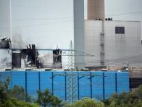 Dampf-Explosion in Kraftwerk Staudinger