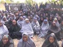 Entführte Schülerinnen in Nigeria