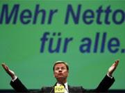 Guido Westerwelle beim FDP-Parteitag, Getty