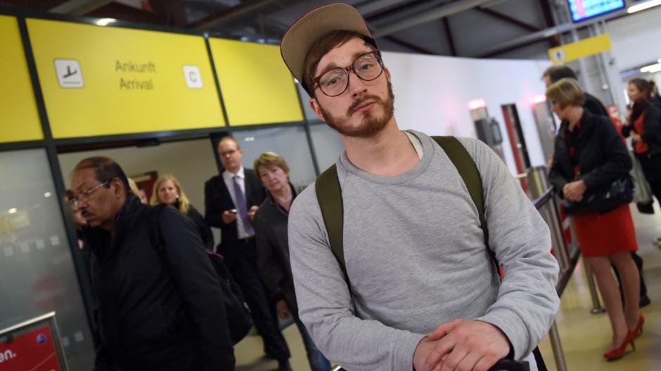 Festgehaltener Autor Jörg Albrecht wieder in Deutschland