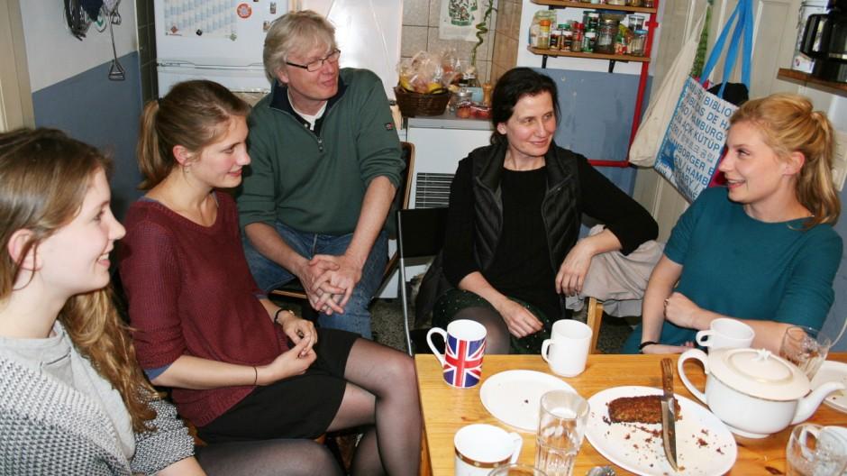 Europa-Recherche Familie über Europa