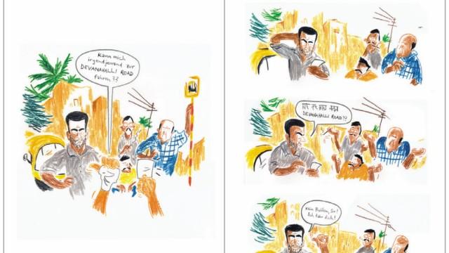 Sebastian Lörscher: Making friends in Bangalore