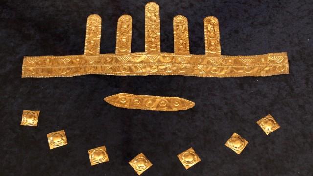 Archäologie Goldfund in Bernstorf
