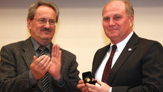 Uli Hoeneß erhält Goldenen Ehrenring der Stadt München, 2010
