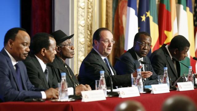 Antiterrorgipfel zu Boko Haram in Paris