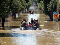 Flooding in Bosnia