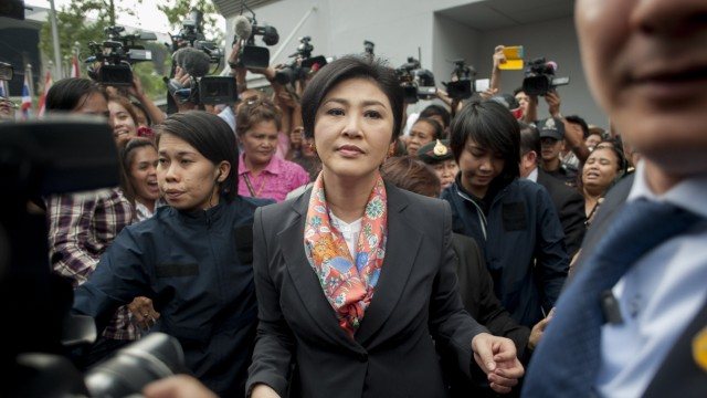 Court Orders Thai PM Yingluck Shinawatra To Step Down From Office
