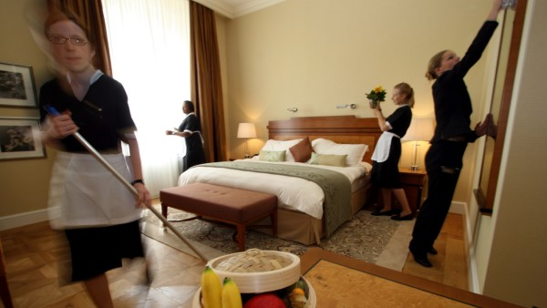 Mitarbeiter des Luxushotels Mandarin Oriental, 2007
