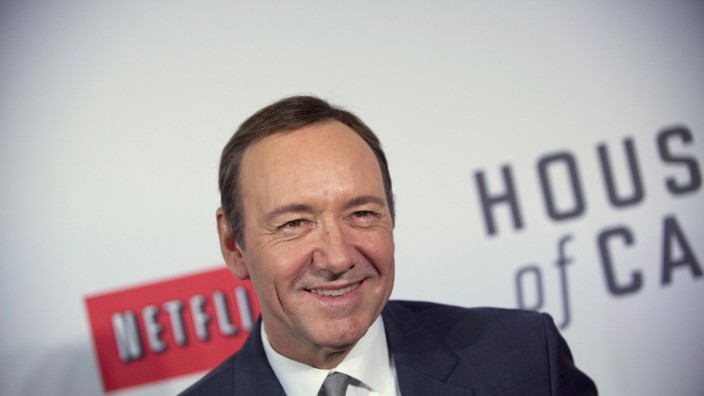 Actor Kevin Spacey arrives at the premiere of Netflix's television series 'House of Cards' at Alice Tully Hall in the Lincoln Center in New York City