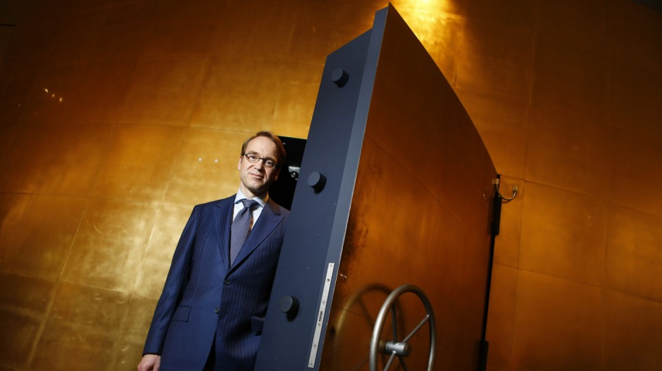 File photo of Germany's Bundesbank President Weidmann