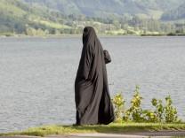 Arabische Touristen in den österreichischen Alpen
