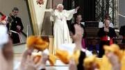 Papst Benedikt XVI. in New York; dpa