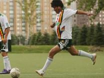 Evo Morales Fußball