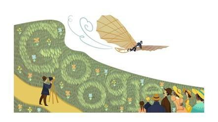 Otto Lilienthal, Google Doodle