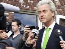 Wilders casts his EU election vote