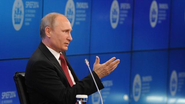 Newsblog Rede in St. Petersburg