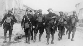 Amerikanische Soldaten in Frankreich, 1918