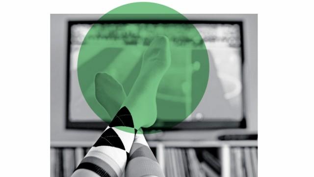Fußball - Feature Fernsehen; szw