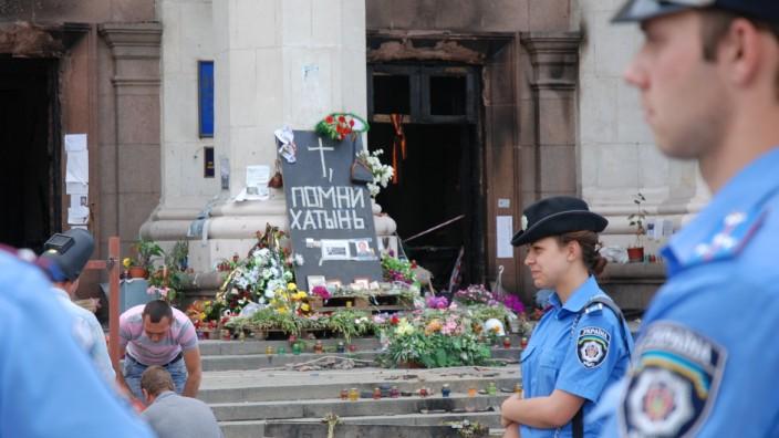 Odessa vor der Wahl