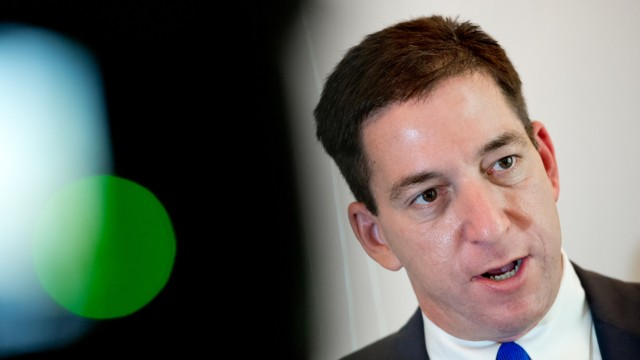 Glenn Greenwald in München