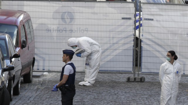 Schießerei Brüssel