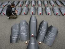 Protest gegen Delfinarium