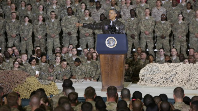US-Präsident Barack Obama in Afghanistan