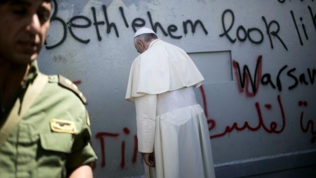 Papst Franziskus in Nahost