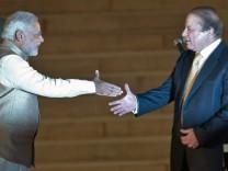 Premierminister Indien Pakistan Narendra Modi Nawaz Sharif
