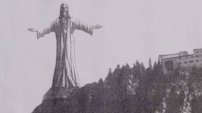Christusstatue für Bad Reichenhall