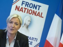 Marine Le Pen press conference