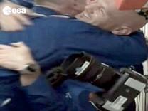 Ankunft auf der ISS - Alexander Gerst