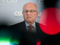 Bundestagsfraktionssitzung CDU
