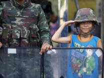 Thailand Wahl Militär