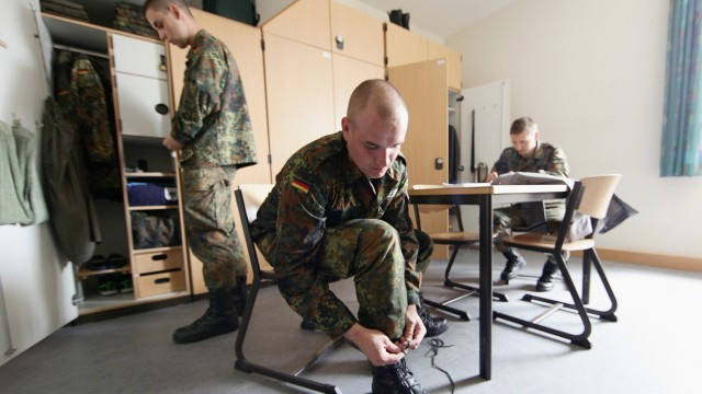 Germany To Shorten Military Service