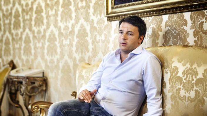 Matteo Renzi Ministerpräsident Italien