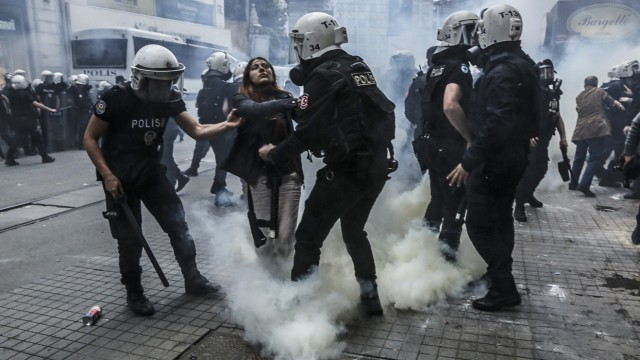 Proteste am Taksim Platz, Istanbul