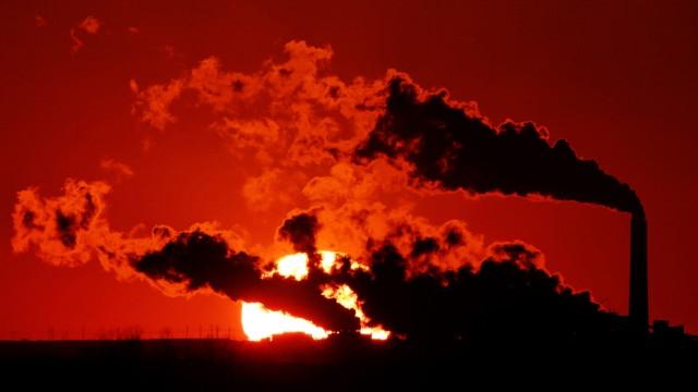 Klimawandel Kraftwerke in den USA