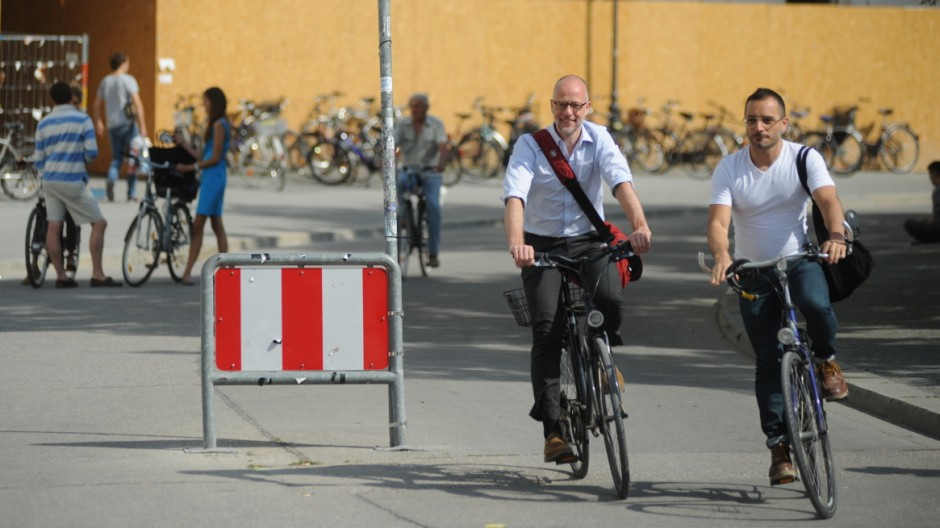 Fahrradstraße in München