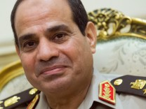 Präsidentenwahl Agypten - Abdul Fattah al-Sisi