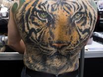The Great British Tattoo Show At Alexandra Palace