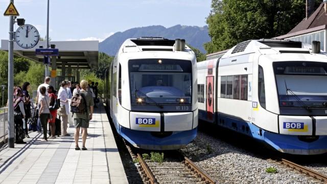 Bayerische Oberlandbahn Probleme mit der BOB
