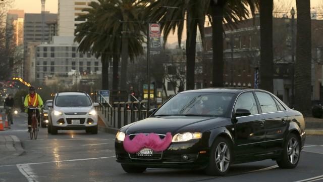 Taxi Taxi-Streit in den USA
