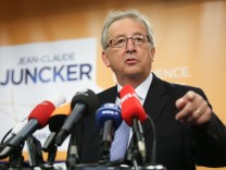 Jean-Claude Juncker press conference