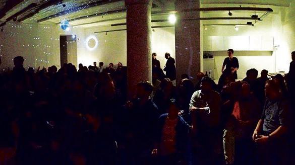 """Veranstaltung im Lettrétage-Saal im Rahmen von """"Soundout"""" in Berlin"""