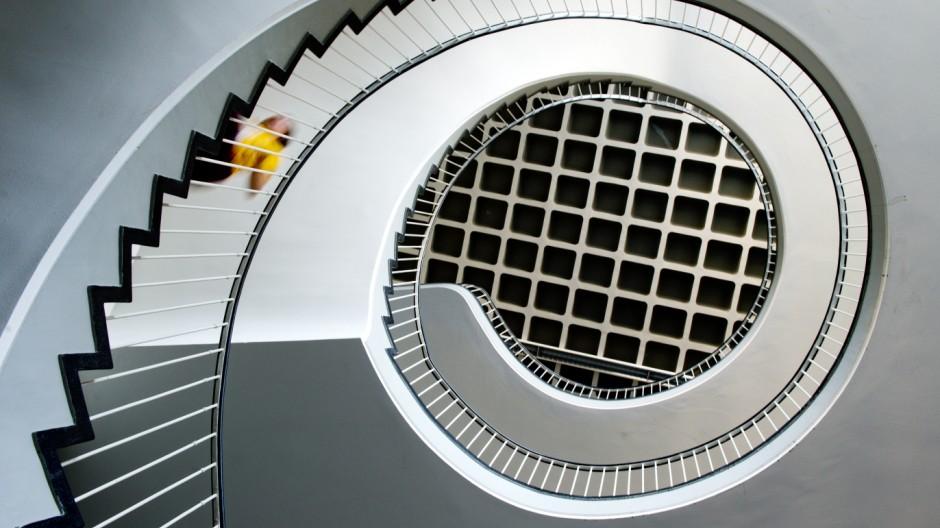 Treppenhaus-Spirale