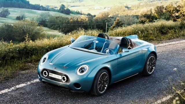 Brite im italienischen Designkleid:Mini zeigt Roadster-Studie