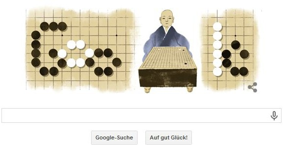 Honinbo Shusaku, Google Doodle