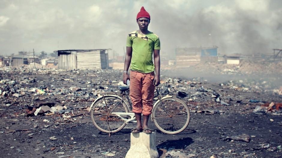 Adam Latif (21) Agbogbloshie EWaste