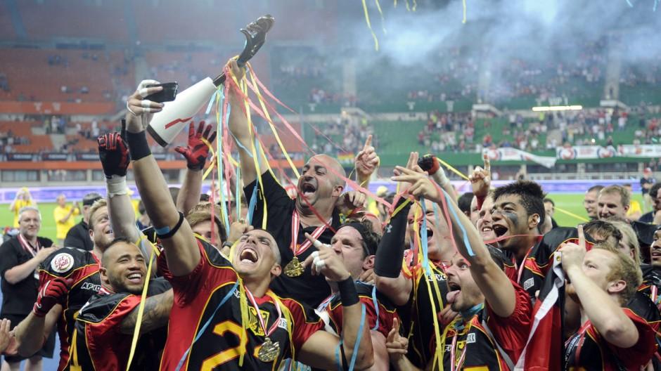 American Football European Championship final match